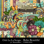 Boho Beautiful OLL Combo Pack-$4.99 (Ooh La La Scraps)