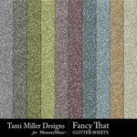 Fancy That Glitter Sheets Pack-$3.99 (Tami Miller)