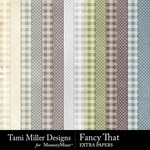 Fancy That Extra Paper Pack-$3.99 (Tami Miller)