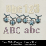 Fancy That Alphabet Pack-$3.99 (Tami Miller)