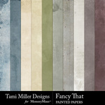 Fancy That Painted Paper Pack-$3.99 (Tami Miller)