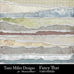 Fancy That Torn Paper Pack-$3.99 (Tami Miller)