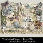 Fancy That Embellishments-$3.99 (Tami Miller)