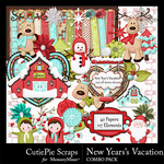 New Years Vacation Combo Pack-$4.99 (CutiePie Scraps)