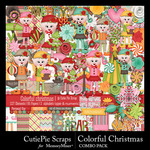 Colorful Christmas Combo Pack-$6.99 (CutiePie Scraps)