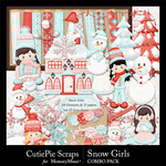Snow Girls Combo Pack-$6.99 (CutiePie Scraps)