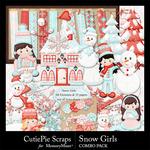 Snow Girls Combo Pack-$6.99 (CutiePie Scraps)