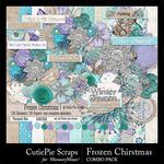Frozen Christmas Combo Pack-$6.99 (CutiePie Scraps)