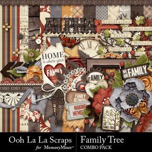 Family tree kit medium