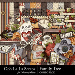 Family Tree Combo Pack-$4.99 (Ooh La La Scraps)