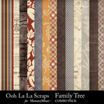 Family tree kit papers small