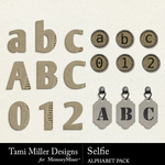 Selfie TM Alphabet Pack-$2.80 (Tami Miller)