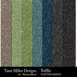 Selfie TM Glitter Paper Pack-$1.99 (Tami Miller)