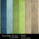 Selfie TM Ornate Paper Pack-$1.99 (Tami Miller)