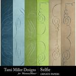 Selfie TM Ornate Paper Pack-$1.40 (Tami Miller)
