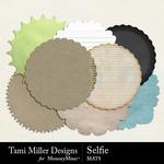 Selfie TM Mats Pack-$2.80 (Tami Miller)