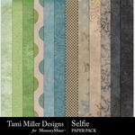 Selfie TM Paper Pack-$2.80 (Tami Miller)