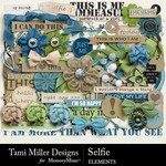 Selfie TM Embellishment Pack-$2.80 (Tami Miller)