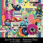 Summer Days Combo Pack-$3.45 (Just So Scrappy)