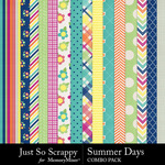 Summer days kit papers small