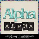 Summer days kit alphas small
