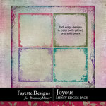 Joyous Messy Edges Pack-$3.49 (Fayette Designs)