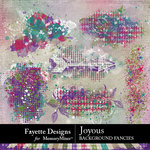 Joyous Background Fancies Pack-$2.99 (Fayette Designs)