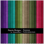Joyous Solid Paper Pack-$3.99 (Fayette Designs)