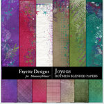 Joyous Hotmess Blended Papers-$3.99 (Fayette Designs)