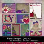 Joyous Journal Cards Pack-$3.49 (Fayette Designs)