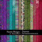 Joyous Patterned Paper Pack-$4.99 (Fayette Designs)