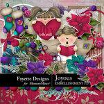 Joyous Embellishment Pack-$3.49 (Fayette Designs)