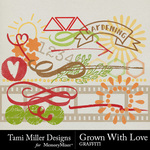 Grown With Love Graffiti Pack-$2.99 (Tami Miller)
