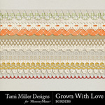 Grown With Love Borders Pack-$2.99 (Tami Miller)