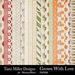 Grown With Love Paper Pack-$3.99 (Tami Miller)