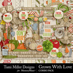 Grown With Love Combo Pack-$7.99 (Tami Miller)
