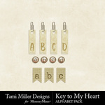 Key to My Heart Alphabet Pack-$2.99 (Tami Miller)
