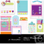 Allies Wonderland Tags-$2.00 (s.e.i)