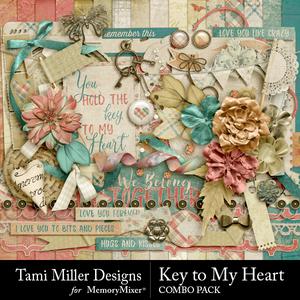 Key to my heart combo pack medium
