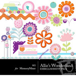 Allies Wonderland Embellishment Pack-$3.50 (s.e.i)