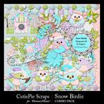 Snow Birdie Combo Pack-$7.99 (CutiePie Scraps)