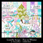 Winter Fun Combo Pack-$3.99 (CutiePie Scraps)