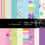 Allies Wonderland Paper Pack-$4.00 (s.e.i)