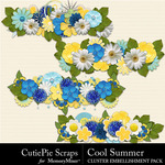 Cool Summer Borders Pack-$2.99 (CutiePie Scraps)