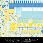 Cool Summer Paper Pack-$2.99 (CutiePie Scraps)