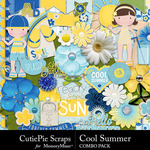 Cool Summer Combo Pack-$4.99 (CutiePie Scraps)
