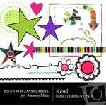 Kewel Embellishment Pack-$3.00 (Bisous By Suzanne Carillo)