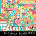You Make Me Melt Combo Pack-$4.99 (Just So Scrappy)