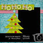 Merry QuickMix-$4.99 (Designs by Krista)