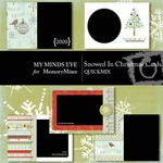 Snowed In Christmas Cards QuickMix-$2.99 (My Minds Eye)